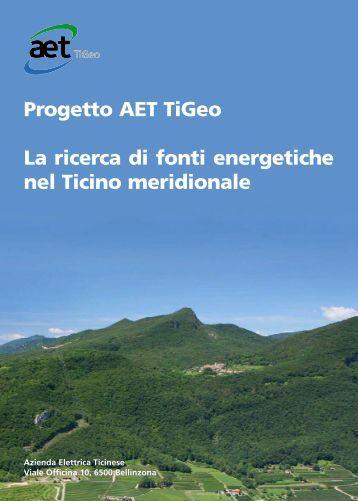 Prospetto AET Tigeo - Azienda Elettrica Ticinese