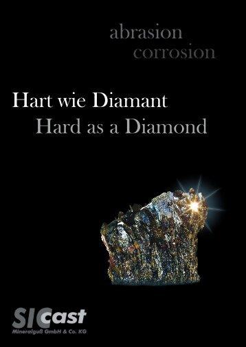abrasion corrosion Hart wie Diamant Hard as a Diamond - SICcast