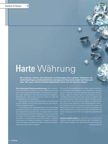 Harte Währung - Diamanten Breede
