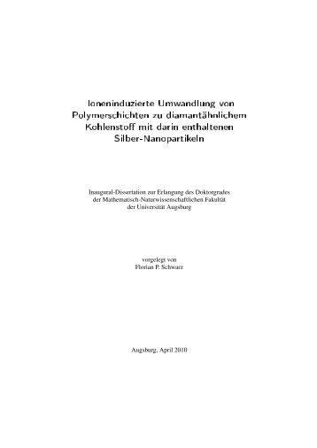 Dokument_1.pdf (20920 KB) - OPUS Augsburg - Universität Augsburg