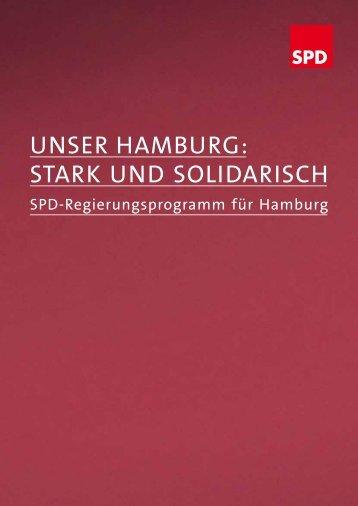 UNSER HAMBURG: STARK UND SOLIDARISCH