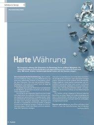X-press Artikel der Deutschen Bank als PDF - Diamanten Invest