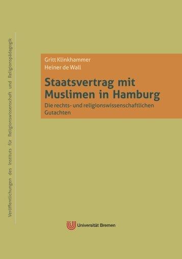 Staatsvertrag mit Muslimen in Hamburg - E-LIB - Universität Bremen