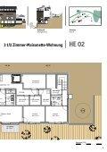 Grundriss Haus E - Simeon Contract Immobilien Lenzerheide - Seite 3