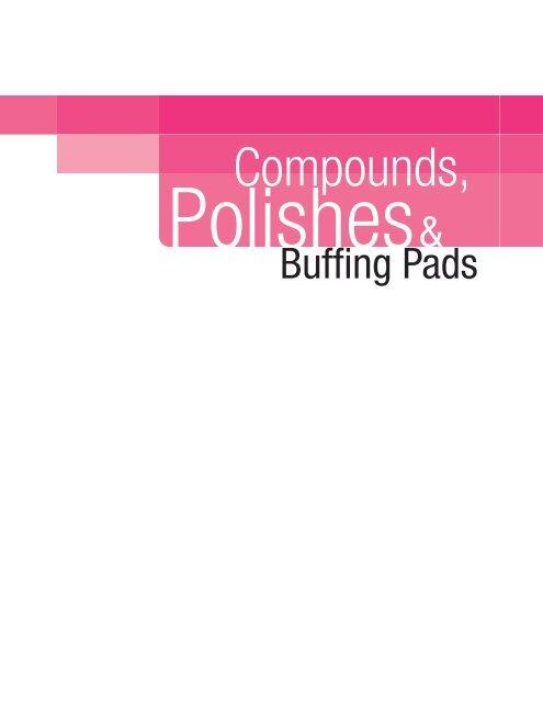 "Ultrafine Polish 3M Perfect-It 6/"" Pad Pak:Low Linting Compound Adaptor Polish"