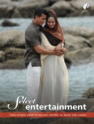entertainment - Malaysia Airlines