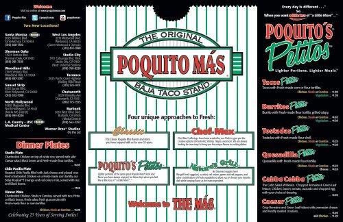 View Download Pdf Menu Poquito Mas Un poquito más is on mixcloud. view download pdf menu poquito mas