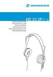 HD 25 /-1 - Sennheiser