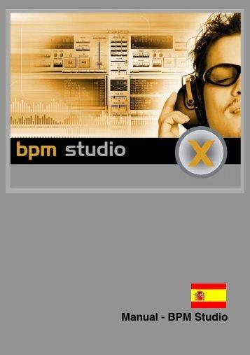 Manual - BPM Studio - BPM Studio - BPM Jukebox