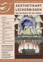 Praxismagazin - Ausgabe 03 - AESTHETIKART