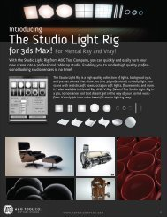 The Studio Light Rig - A&G Tool Company