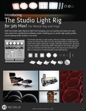 The Studio Light Rig - A&G Tool Company