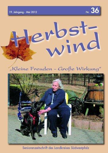 Herbstwind - Ein Sprichwort muss her!