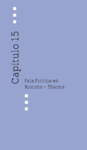 Faja pirítica en Río Tinto-Tharsis - Junta de Andalucía