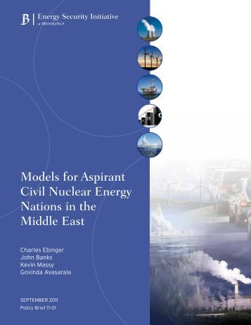 Models for Aspirant Civil Nuclear Energy Nations in the Middle East