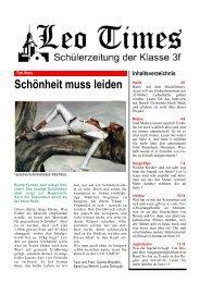 Schönheit muss leiden - Basler Zeitung