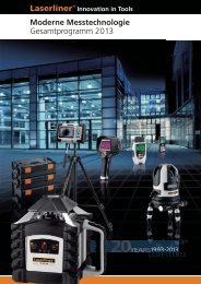 Gesamtprogramm 2013 - Laserliner