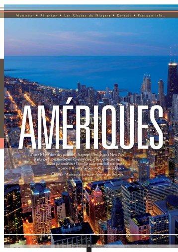Télécharger la brochure Amériques - Rivages du Monde