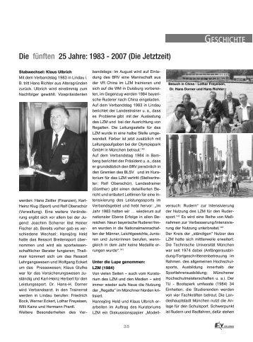 125 Jahre BRV:Layout 1.qxd - Bayerischer Ruderverband