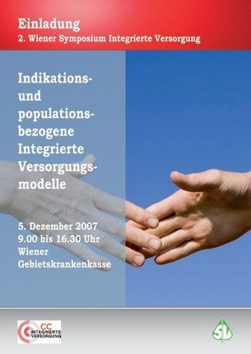 Einladung Indikations- und populations- bezogene Integrierte ...