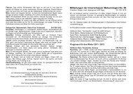 Mitteilungen der Innerschwyzer Meteorologen No ... - Gasthaus Kreuz