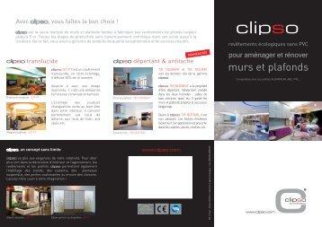 murs et plafonds - Clipso