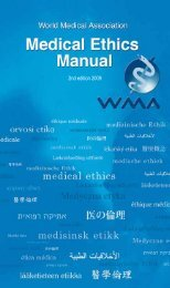 2nd edition 2009 - World Medical Association