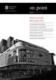 Retail City Guide Rhein-Main 2012 (PDF) - Jones Lang LaSalle