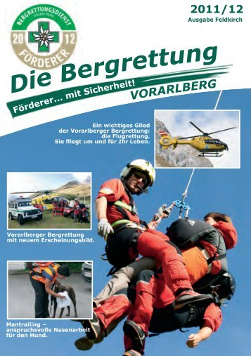 Die Bergrettung - Bergrettung Vorarlberg. News