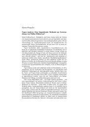Martin Wengeler Topos-Analyse: Eine linguistische Methode zur ...