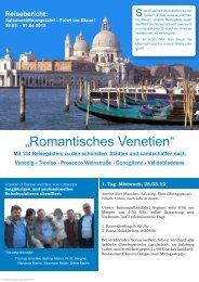 """""""Romantisches Venetien"""" - Martin-Reisen"""