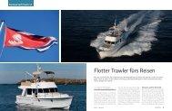 Flotter Trawler fürs Reisen - boot24.ch