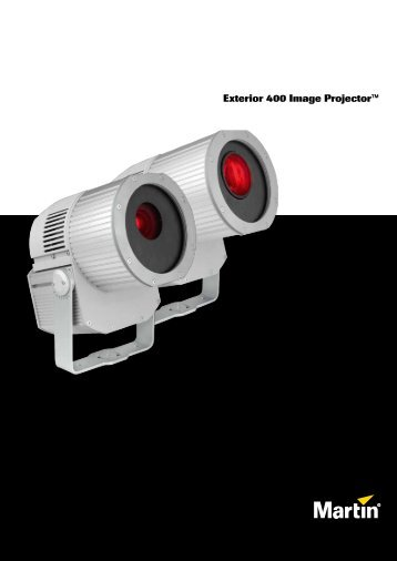 Exterior 400 Image Projector™ - Martin