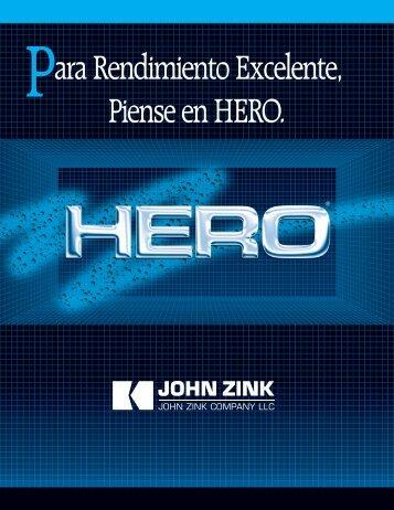 Para Rendimiento Excelente, Piense en HERO. - John Zink Company