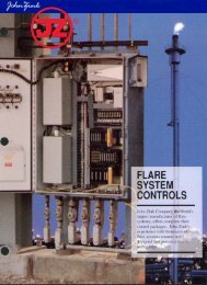 Ignition Control Systems - John Zink Company