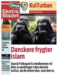 Dansk Folkepartis medlemmer vil ikke se ændringer i den danske ...
