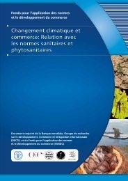 Changement climatique et commerce - Standards and Trade ...
