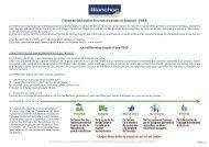 Fiches de Déclaration Environnementale et Sanitaire ... - Blanchon