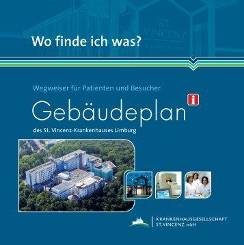 Gebäudeplan - St. Vincenz Krankenhaus Limburg