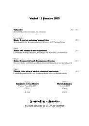 Le samedi au «vis-a-vis - Brasserie Lipp