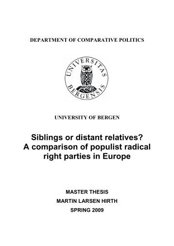Master thesis 2006