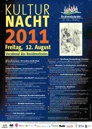 Freitag, 12. August - Verbandsgemeinde Kirchheimbolanden