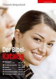 Katalog - Deutsche Bibelgesellschaft