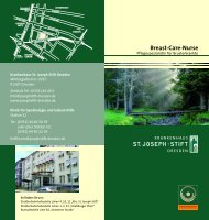 Breast-Care-Nurse - St. Joseph-Stift Dresden