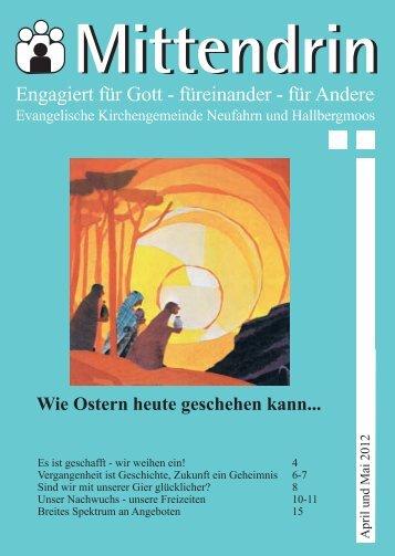 Gemeindebrief 2012-02 - Evang.-luth. Kirchengemeinde Neufahrn ...