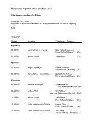 Ergebnisse Sparte 5: Orientierungswettbewerb (pdf ) - Siegburg