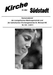 November - Seelsorgeeinheit Philipp Neri, Heidelberg
