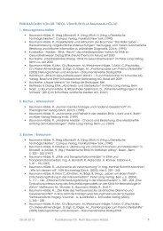 Download Publikationsliste - Dialog Ethik