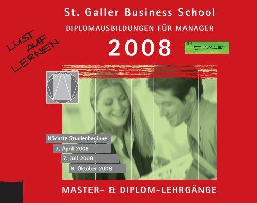SGBS Alumni-Club - St. Galler Business School