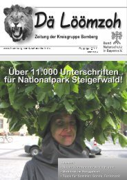 Über 11.000 Unterschriften für Nationalpark Steigerwald! - Bund ...
